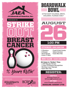 2018 Strike Out Breast Cancer